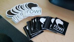 Rowi Stickers